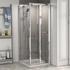 Radiant STANDARD Height Shower Door Bifold 800