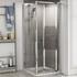 Radiant Reduced Height Shower Door Bifold 700
