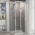 Radiant Reduced Height Shower Door Bifold 700 Side Panel