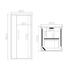 RELAXO HOME SAUNA TECHNICAL DRAWING