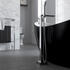 OSTERLEY FREESTANDING BLACK BATH WITH TAP