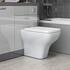Grove 1500 Vanity Suite and Straight Shower Bath Platinum Grey - 179569
