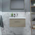 Front view for Drift Cloakroom 600mm Vanity Unit