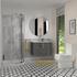 Side view of Sonix bathoom toilet