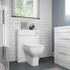 Bathroom Back to Wall Toilet in White