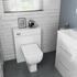 White Bathroom Shower Suite
