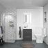 Shower Suite with Grey Furniture