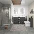 Grey Bathroom Shower Suite