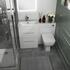 Vanity Unit with 2 draws and Back to wall Toilet