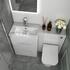 Small Bathroom Vanity Unit with 2 draws and Back to wall unit