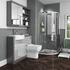 Grove Shower Suite with Vanity Unit and back to wall toilet