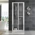 bifold door shower panels
