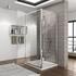 glass pivot doors shower enclosure