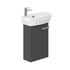 Britton MyHome Wall Hung Cloakroom 360mm Vanity Unit Grey