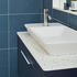 Britton Shoreditch Wall Hung Single Drawer 1000mm Vanity Unit with Yacht Countertop Basin