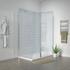 Radiant 1400 Hinged Walkin Corner Shower Enclosure