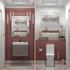 Traditional Cloakroom Suite, Wall Hung Vanity unit and Toilet