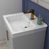 Small Traditional Bathroom Suite, 600 Vanity Unit and Toilet