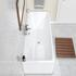 Top View of Slim Edge 1700 x 700 Double Ended Bath