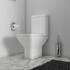 Room Scene View of Ashford Open Back Toilet with Rimless Pan
