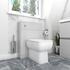 Ashford Back to Wall Toilet in Grey