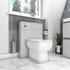Back to Wall  Unit with soft close toilet
