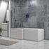 Large Shower Bath in Grey