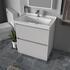 Modern Grey Bathroom Vanity Unit