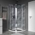 Quadrant Shower Enclosure in Chrome