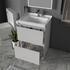 Bathroom Vanity Unit with Basin and Draws