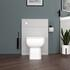Back to wall Unit with toilet