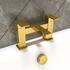 Bathroom Bath Filler Tap in Brushed Gold