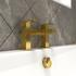 Gold Bathroom Fillet Tap for Bathrooms