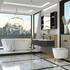 Jivana Suite Freestanding Bath 1200 Double Grey Vanity Wall Hung Toilet