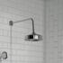 Carmel Traditional Chrome Shower Head Wall
