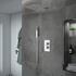 Ribble 2 Outlet Wall Shower Set Head Handset Slider