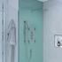 Tweed 3 Outlet Wall Shower Set Head Handset Bath Filler