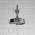 Carmel Traditional 3 Outlet Shower Set Head Handset Bath Spout