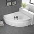 Modern Quality Laguna Plus 1200 Corner Bath & Front Panel