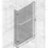 Measurements of Height, Length And Width for Bath Screen