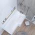 acrylic modern quality acrylic modern quality L Shape Shower Bath Right Handed Model