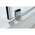 BC Shower Quadrant chrome square rollers