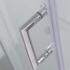 Chrome Square Handle for Sliding Shower Door