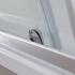 Curved Chrome Bottom Roller For BC 1200 Sliding Door