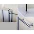 Single Bath Screen With Towel Rail - 25-379