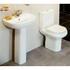 Compact Deluxe 4 Piece Bathroom Suite - 30-196