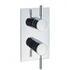 Design Thermostatic Shower Valve with 2 Way Diverter Chrome Bathroom Accessory