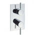 Design Thermostatic Shower Valve with 2 Way Diverter Chrome Bathroom Accessory