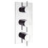 Kai Lever Thermostatic Shower Valve-3 Control Port rectangle