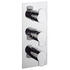 Design Thermostatic Shower Valve-3 Way Div Port rectangle